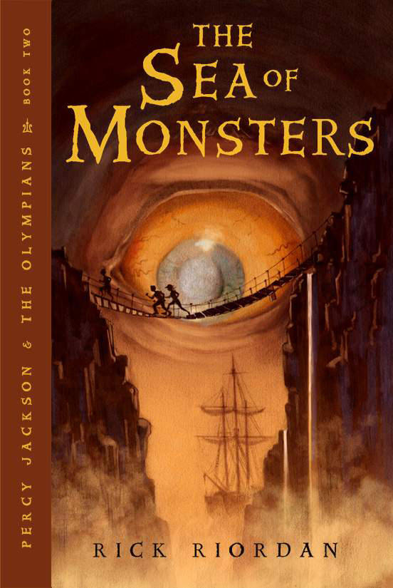 THE SEA OF MONSTERS (PERCY JACKSON AND THE OLYMPIANS, BOOK #2) BY RICK RIORDAN: BOOK REVIEW
