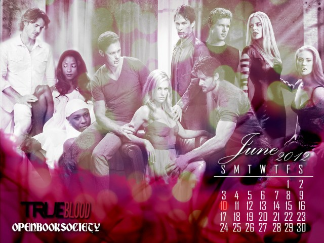 TRUE BLOOD JUNE CALENDAR WALLPAPER