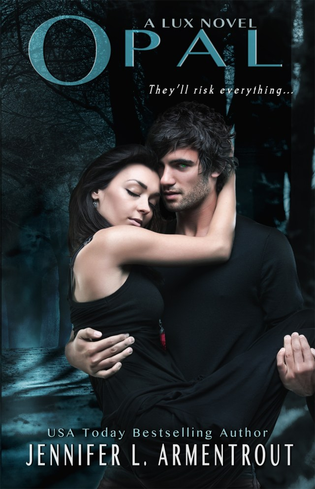 JENNIFER L. ARMENTROUT COVER REVEAL: OPAL (LUX, BOOK #3)