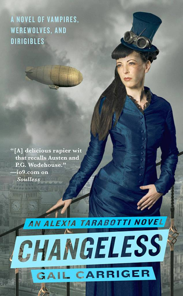 CHANGELESS (PARASOL PROTECTORATE, BOOK #2) BY GAIL CARRIGER: BOOK REVIEW