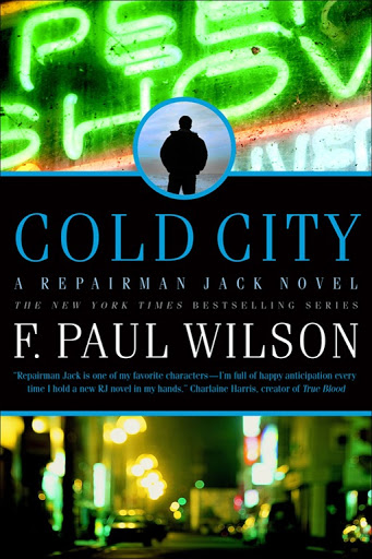 COLD CITY BY F. PAUL WILSON: BOOK GIVEAWAY