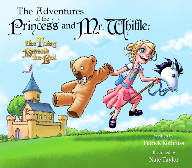 THE ADVENTURE OF THE PRINCESS AND MR. WHIFFLE: THE THING BENEATH THE BED BY PATRICK ROTHFUSS: COMIC REVIEW