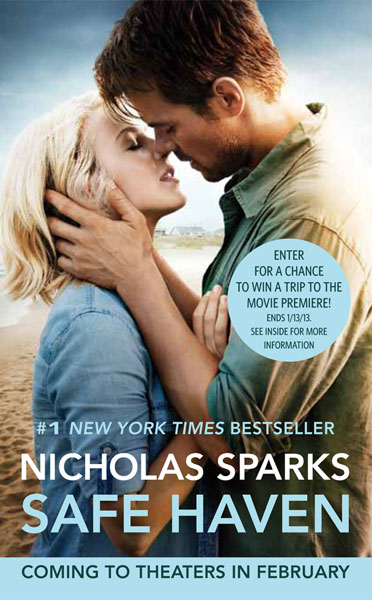 SAFE HAVEN BY NICHOLAS SPARKS: BOOK REVIEW