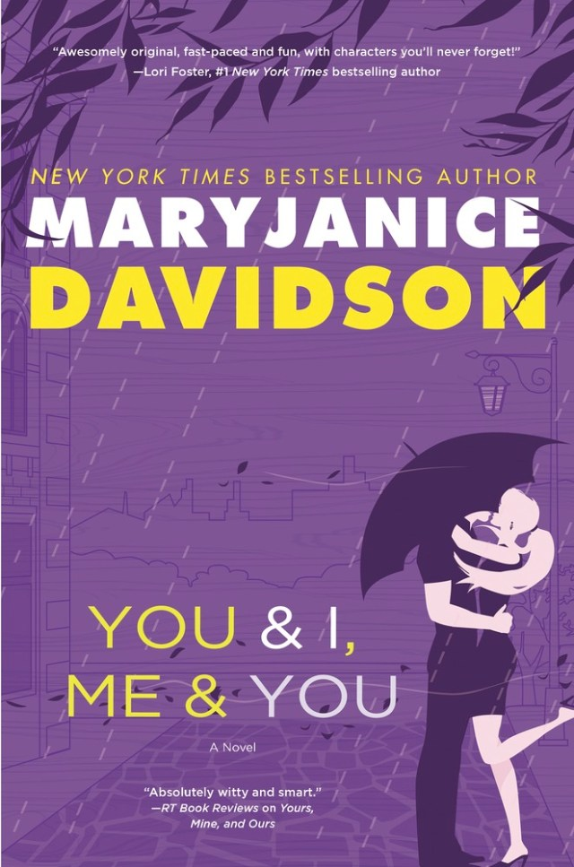 YOU & I, ME & YOU (BOFFO, BOOK #3) BY MARYJANICE DAVIDSON: BOOK REVIEW