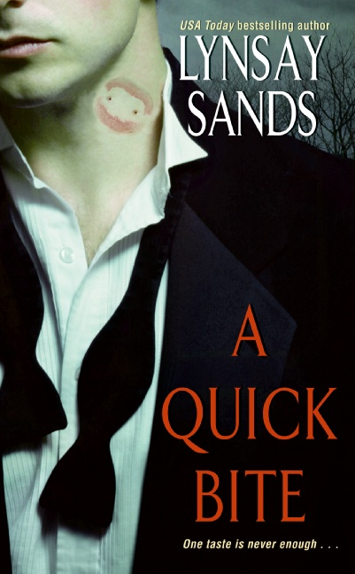 A QUICK BITE (ARGENEAU, BOOK #1) BY LYNSAY SANDS: BOOK REVIEW
