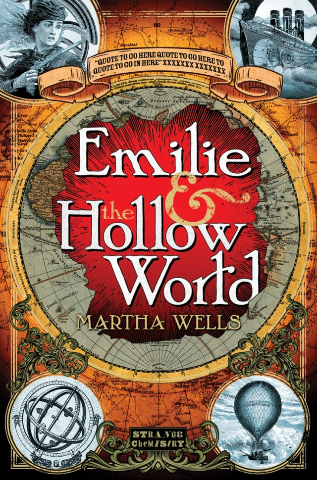 EMILIE AND THE HOLLOW WORLD BY MARTHA WELLS: BOOK REVIEW