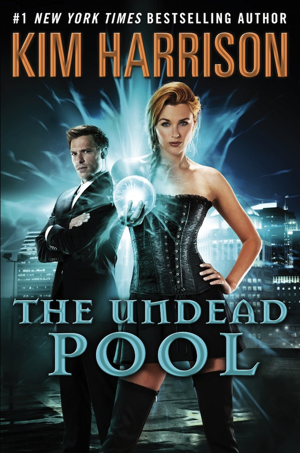 IT'S COMPLETE! KIM HARRISON'S 'THE UNDEAD POOL' FULL COVER REVEAL