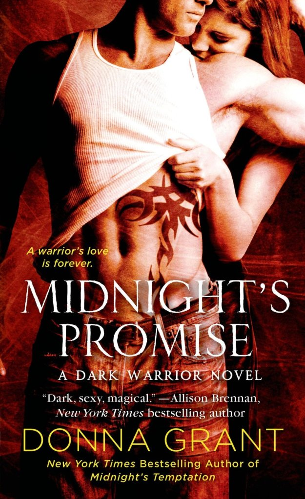 MIDNIGHT'S PROMISE (DARK WARRIORS, BOOK #8) BY DONNA GRANT: BOOK REVIEW