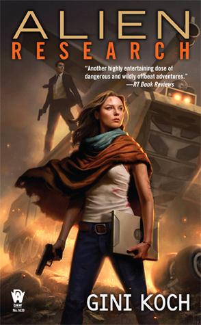 "ALIEN RESEARCH (KATHERINE ""KITTY"" KATT, BOOK #8) BY GINI KOCH: BOOK REVIEW"