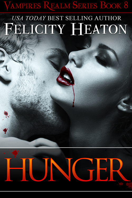 FELICITY HEATON'S 'HUNGER' COVER REVEAL!