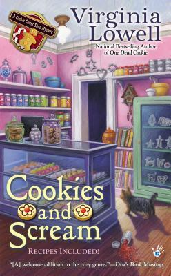 COOKIES AND SCREAM (COOKIE CUTTER SHOP MYSTERY, BOOK #5) BY VIRGINIA LOWELL: BOOK REVIEW