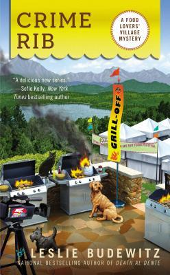 CRIME RIB (FOOD LOVERS' VILLAGE MYSTERIES, BOOK #2) BY LESLIE BUDEWITZ: BOOK REVIEW