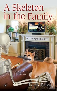 A SKELETON IN THE FAMILY (A FAMILY SKELETON MYSTERY BOOK #1) BY LEIGH PERRY: BOOK REVIEW