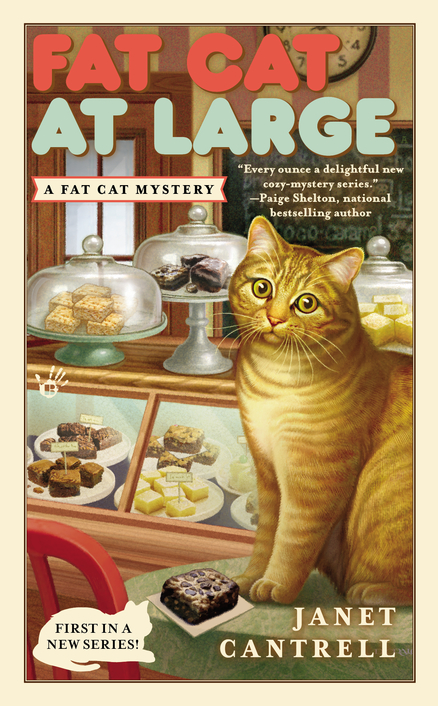 FAT CAT AT LARGE (FAT CAT MYSTERY, BOOK #1) BY JANET CANTRELL: BOOK REVIEW
