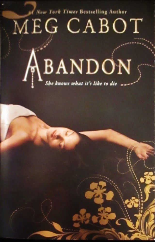 ABANDON (ABANDON, BOOK #1) BY MEG CABOT: BOOK REVIEW