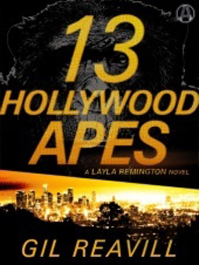 HOLLYWOOD APES BY GIL REAVILL: BLOG TOUR & GIVEAWAY