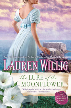 THE LURE OF THE MOONFLOWER (PINK CARNATION, BOOK #12) BY LAUREN WILLIG: BOOK REVIEW