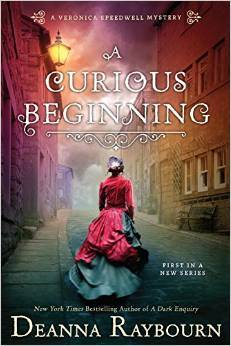 A CURIOUS BEGINNING (VERONICA SPEEDWELL MYSTERY, BOOK #1) BY DEANNA RAYBOURN: BOOK REVIEW