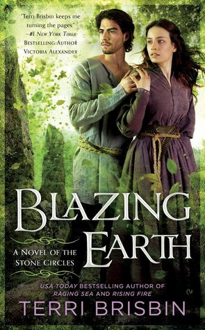BLAZING EARTH (STONE CIRCLES, BOOK #3) BY TERRI BRISBIN: BOOK REVIEW