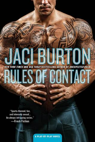 RULES OF CONTACT (PLAY BY PLAY, BOOK #12) BY JACI BURTON: BOOK REVIEW