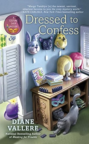 DRESSED TO CONFESS (COSTUME SHOP MYSTERY, BOOK #3) BY DIANE VALLERE: BOOK REVIEW