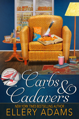 CARBS & CADAVERS (A SUPPER CLUB MYSTERY, BOOK #1) BY ELLERY ADAMS: BOOK REVIEW