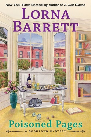 POISONED PAGES (BOOKTOWN MYSTERY, BOOK #12) BY LORNA BARRETT: BOOK REVIEW