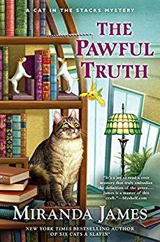 THE PAWFUL TRUTH (CAT IN THE STACKS MYSTERY, BOOK #11) BY MIRANDA JAMES: BOOK REVIEW