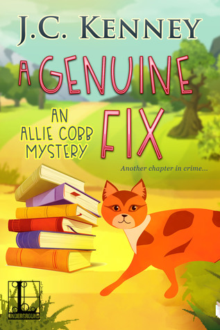 A GENUINE FIX (ALLIE COBB MYSTERY #2) BY J.C. KENNY: BOOK REVIEW