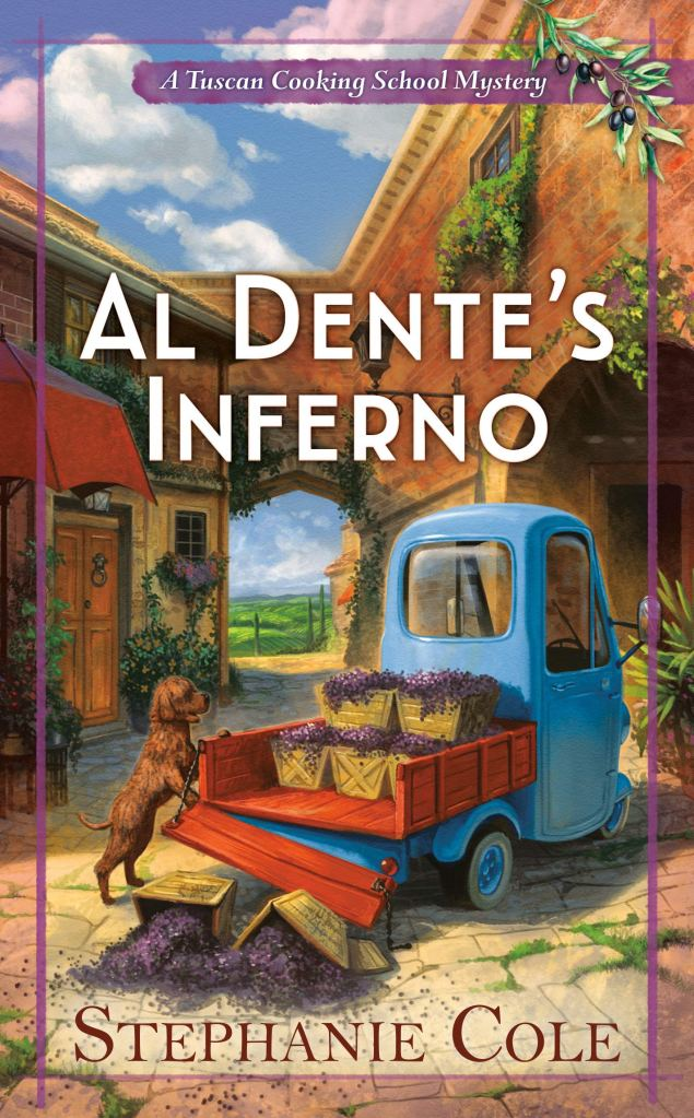 AL DENTE'S INFERNO (TUSCAN COOKING SCHOOL MYSTERY, BOOK #1) BY STEPHANIE COLE: BOOK REVIEW