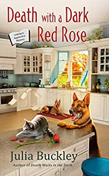 DEATH WITH A DARK RED ROSE (A WRITER'S APPRENTICE MYSTERY #5) BY JULIA BUCKLEY: BOOK REVIEW