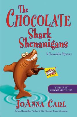 THE CHOCOLATE SHARK SHENANIGANS (A CHOCOHOLIC MYSTERY #17) BY JOANNA CARL: BOOK REVIEW