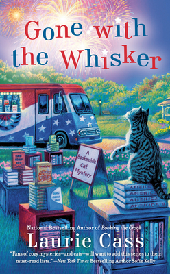 GONE WITH THE WHISKER (A BOOKMOBILE CAT MYSTERY #8) BY LAURIE CASS: BOOK REVIEW