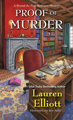 PROOF OF MURDER (BEYOND THE PAGE BOOKSTORE MYSTERY, BOOK #4) BY LAUREN ELLIOTT: BOOK REVIEW