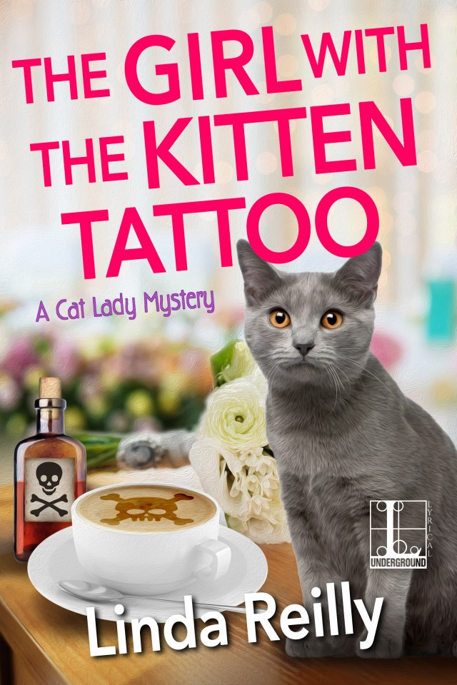 THE GIRL WITH THE KITTEN TATTOO (A CAT LADY MYSTERY, BOOK #5) BY LINDA REILLY: BOOK REVIEW