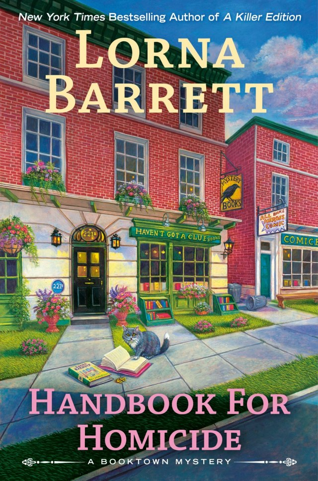 HANDBOOK FOR HOMICIDE (BOOKTOWN MYSTERY #14) BY LORNA BARRETT: BOOK REVIEW