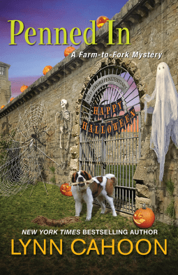 PENNED IN (FARM-TO-FORK MYSTERY #5) BY LYNN CAHOON: BOOK REVIEW