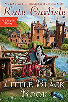 LITTLE BLACK BOOK (BIBLIOPHILE MYSTERY, BOOK #15) BY KATE CARLISLE: BOOK REVIEW