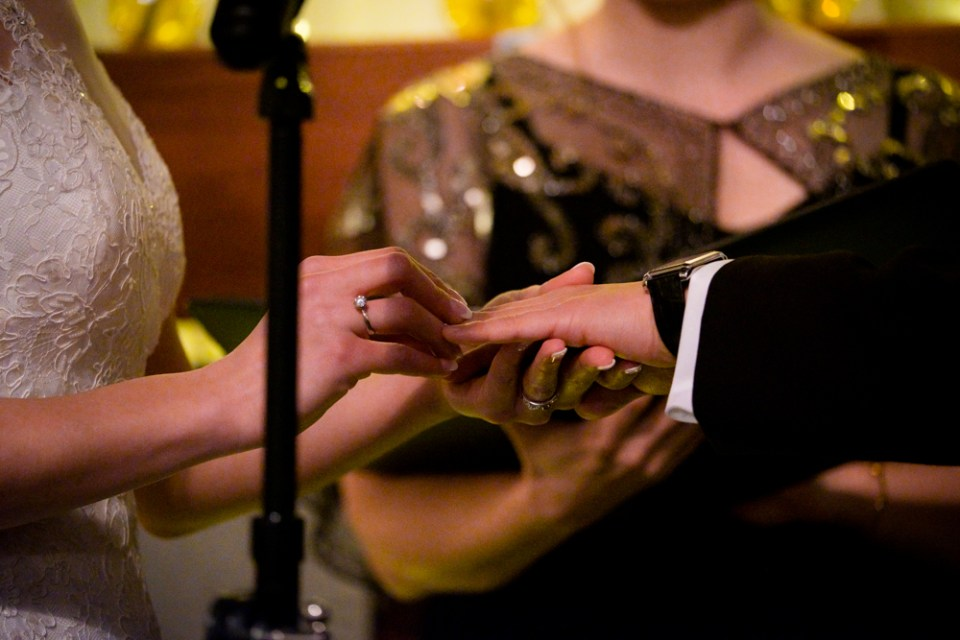 The exchanging of the rings