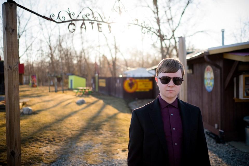 John Carlson looking daper at the Gates of Hell, Michigan