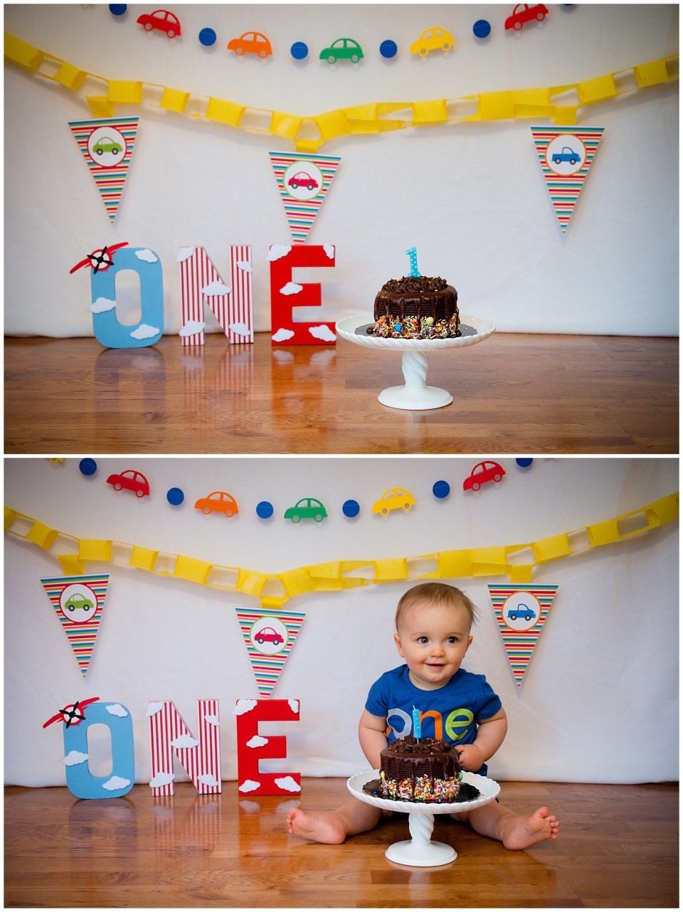Cake Smash Family Photography