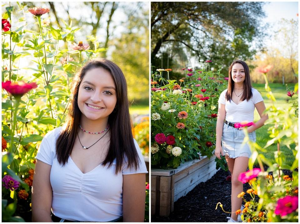 Dexter High School Senior Portraits Sunset Golden Hour