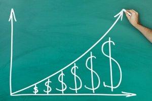 Dollar growth chart