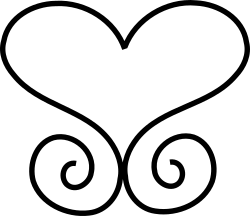 Scrollwork Heart by cgillis73 - Heart with Scrollwork