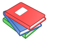 clipart image of a stack of books