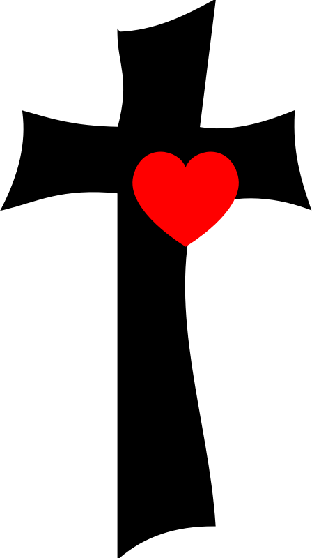 Download Clipart - From the cross with love