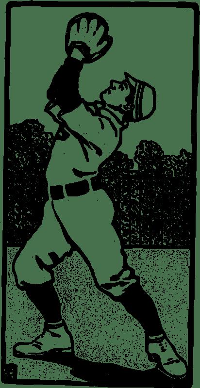 Download Clipart - Baseball Catcher