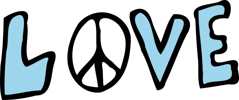 Download Clipart - Love and Peace