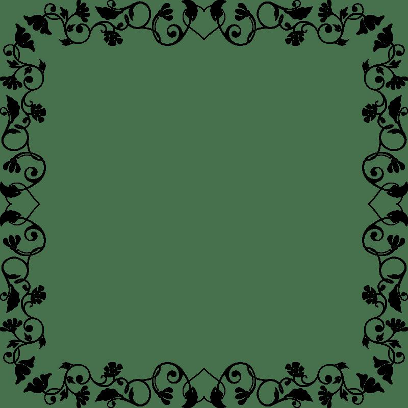 Clipart Floral Frame 38
