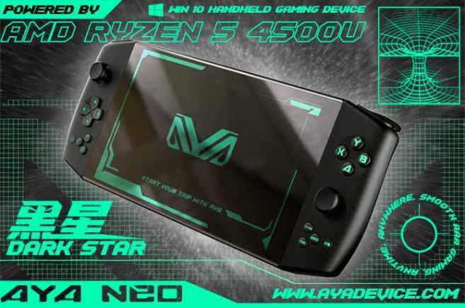 AYA NEO Gaming Console Black edition
